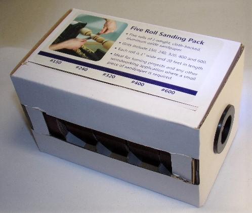 5 roll sanding pack