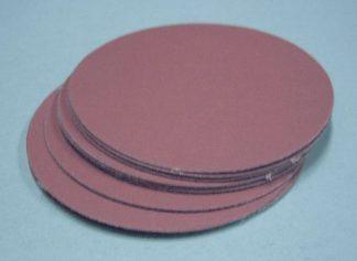 3 inch sanding discs, velcro backed abrasive