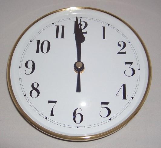 Clock insert 160mm