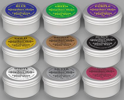 Hampshire Sheen Embellishing Wax 60g tin