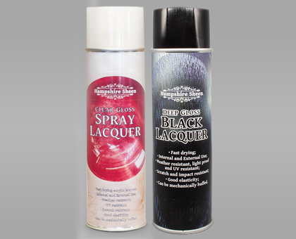 Hampshire Sheen Lacquers