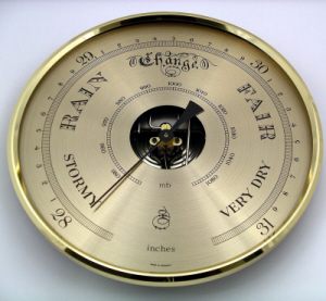 barometer gold 160mm