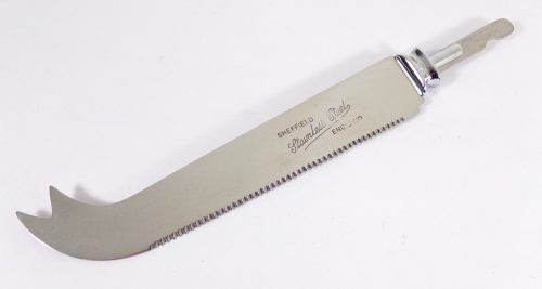 Stamped Cheese Knife Blade