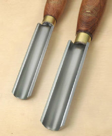 crown roughing out gouge