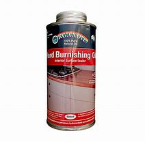 Organoil hard burnishing oil