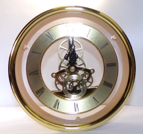 Skeleton Clock 150mm