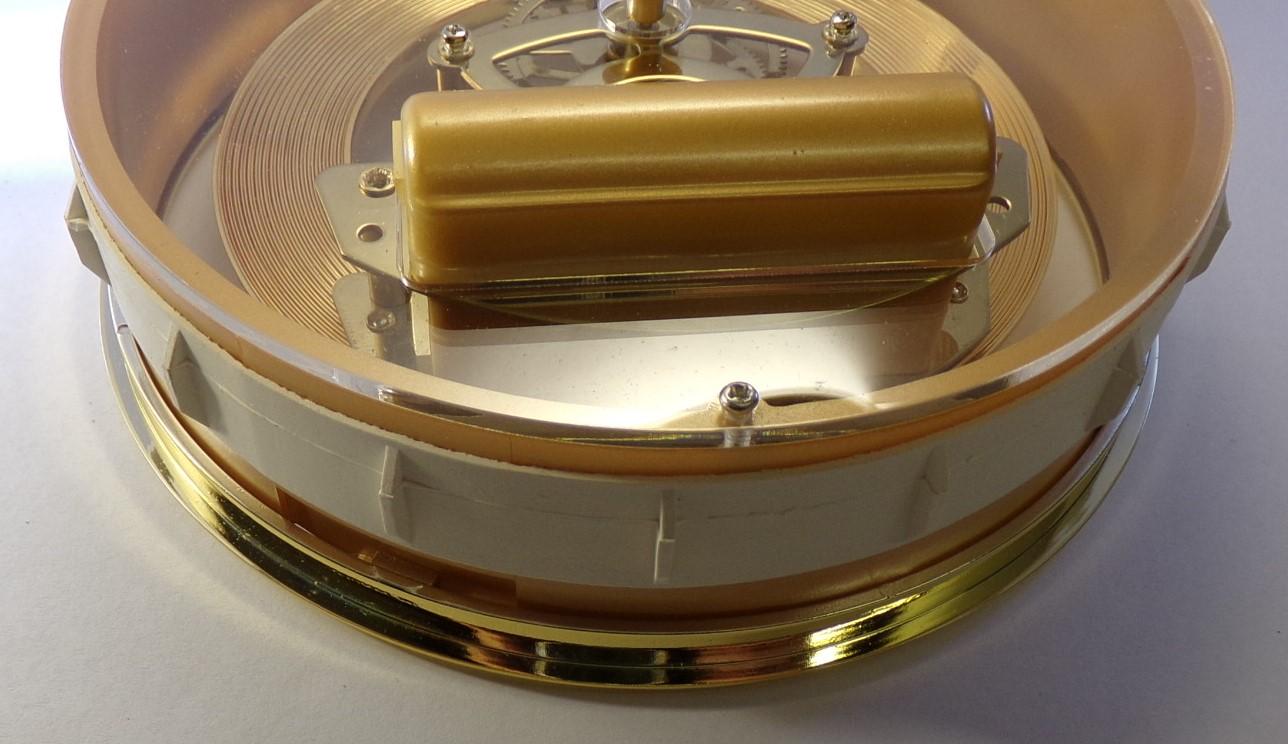 150mm skeleton gold back