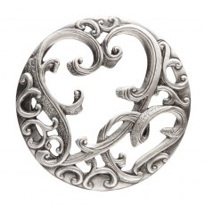 pewter lid hearts