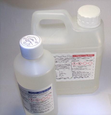 Polycraft Clear Top 5 Epoxy Resin 1.5kg Kit