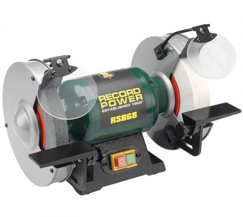 record 8 inch bench grinder